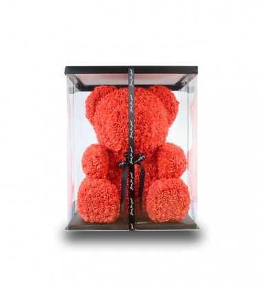 Kırmızı Ayı Teddy Rose 70 cm